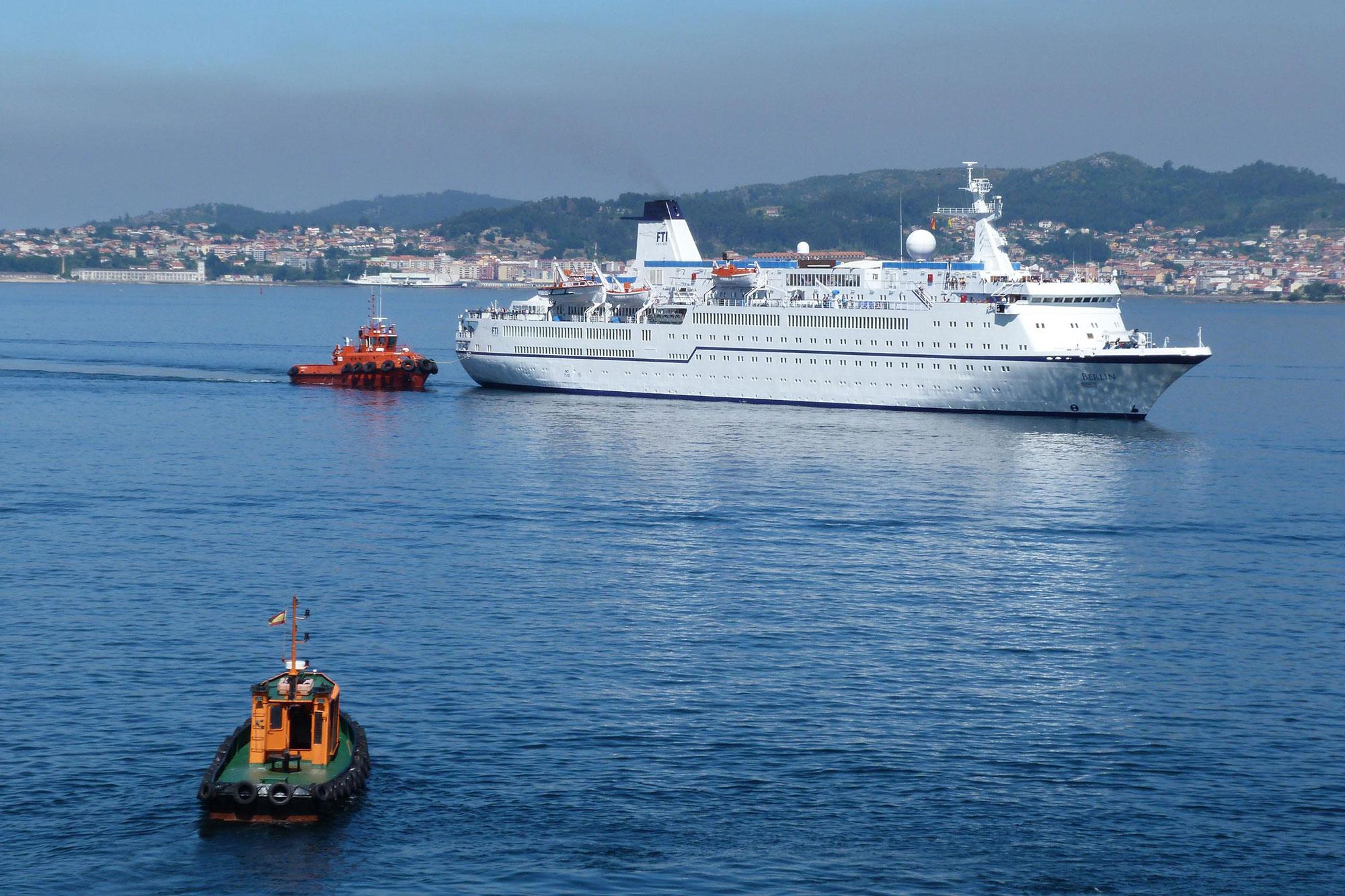 El puerto de vigo recibi la escala del buque en el que se - Puerto de vigo cruceros ...